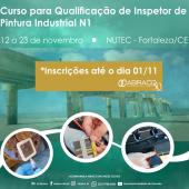 Em novembro será realizado o Curso de Inspetor N1 em Fortaleza