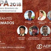 Confira os palestrantes confirmados - V SBPA