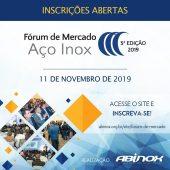 Fórum de Mercado Aço Inox | ABINOX