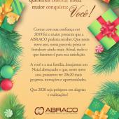 Feliz Natal e um Ano Novo cheio de alegrias