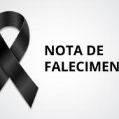 Nota de Falecimento - Sérgio Antônio da Silva