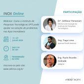 Webinar ABINOX: Como o Instituto de Pesquisas Tecnológicas (IPT) pode ajudar na solução de problemas de Aços Inoxidáveis
