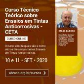 ABRACO promove novo curso online - CETA