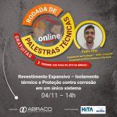 Palestra sobre Revestimento Expansivo - Rodada de Palestras Técnicas Online da ABRACO